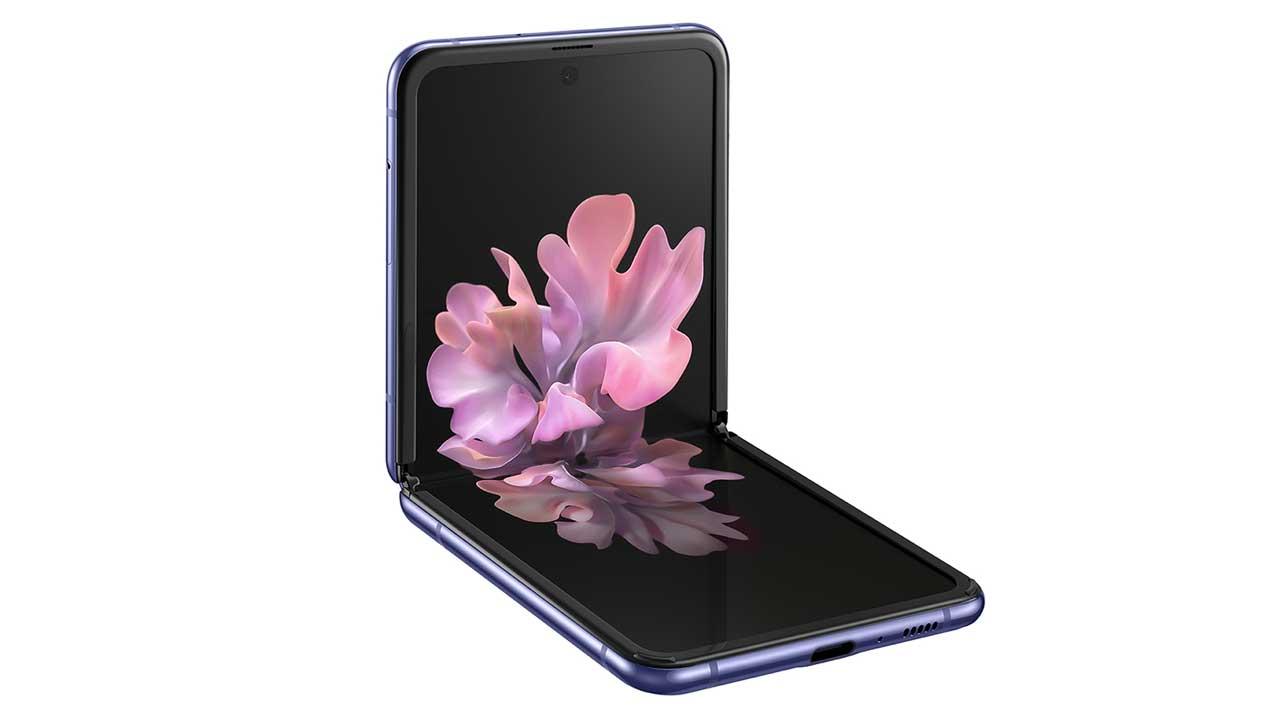 The Samsung Galaxy Z Flip