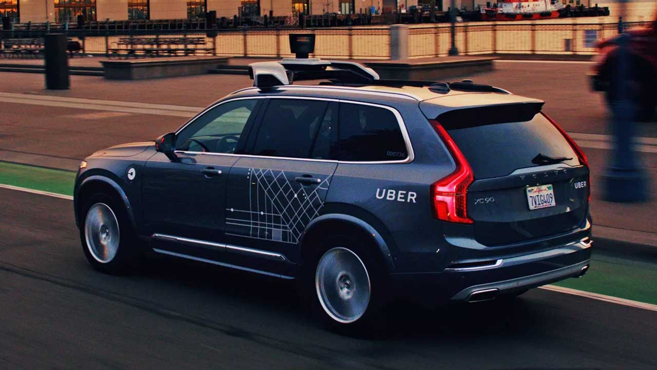 Uber is selling off its self-driving car group