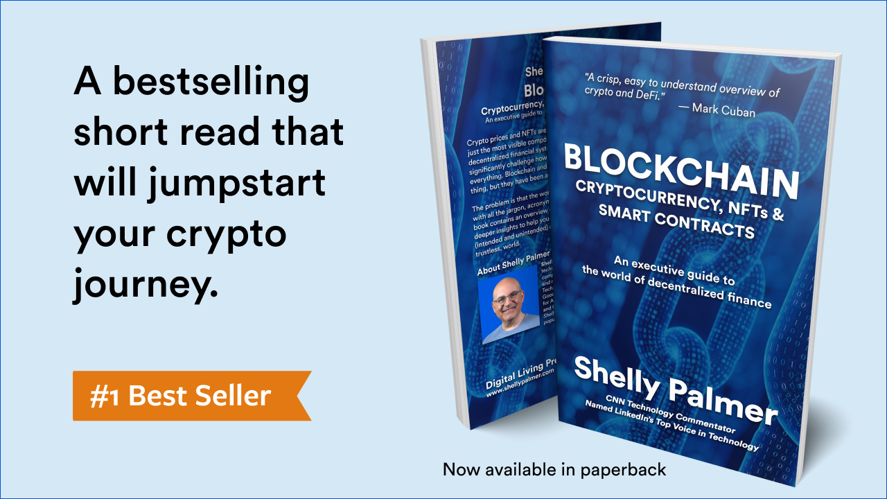 Blockchain - Cryptocurrency, NFTs & Smart Contracts: An executive guide to the world of decentralized finance.