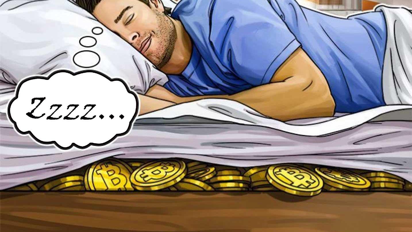 Crypto under mattress